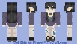"【 ""what falling in love feels like..."" 】 Minecraft Skin"
