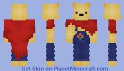 bearbubb skin remake Minecraft Skin