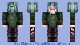 miyoriia // skin commission Minecraft Skin