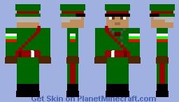 BG soldiar Minecraft Skin
