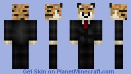 Mr. ocelot Minecraft Skin