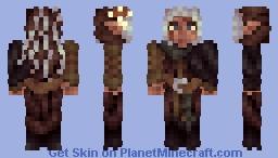 Goth Ranger Minecraft Skin