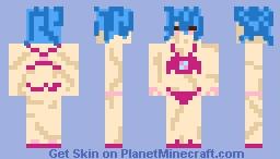 idek hot girl summer ig Minecraft Skin