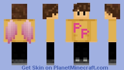 wilbur.. pink parrots.. Minecraft Skin