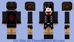 Masked Man alternate Minecraft Skin
