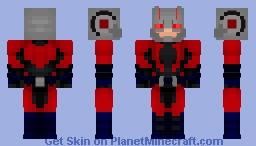 Ant-Man - Hank Pym (Marvel Comics) Minecraft Skin
