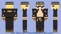Johnny ~ Guilty Gear Xrd Minecraft Skin