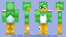 The Mallard Abomination (PMC Fighter) Minecraft Skin