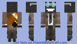 Bomb In A suit Minecraft Skin