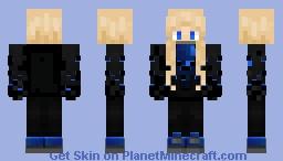 Skull girl Minecraft Skin