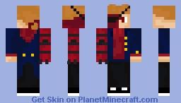 Future Tord/Red Leader V2 (Eddsworld) Minecraft Skin