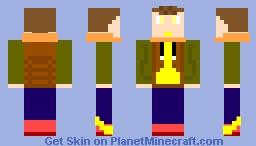 Speed Boy Minecraft Skin