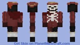 𝕿𝖍𝖊 𝕸𝖆𝖘𝖖𝖚𝖊 𝕺𝖋 𝕿𝖍𝖊 𝕽𝖊𝖉 𝕯𝖊𝖆𝖙𝖍. Minecraft Skin