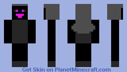 Evil Girlfriend fnf Minecraft Skin