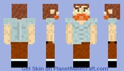 Plain Clothes Guy Minecraft Skin