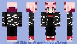 Zero Two Supreme Minecraft Skin