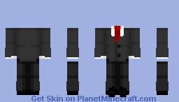 lovely suit Minecraft Skin