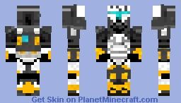 Delta squad scorch Minecraft Skin