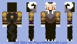 King's Possible Father / Adult Form ( The Owl House ) Minecraft Skin