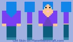 Ordanary girl Minecraft Skin