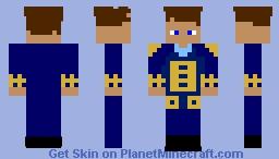 Naval Officer(1800's) Minecraft Skin