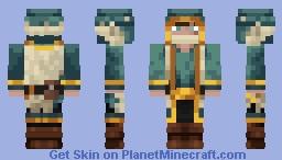 wondering trader of the harsh tundra Minecraft Skin