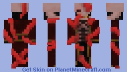 In the Arms of the Kraken Minecraft Skin