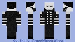 Flag Officer Louis M. Goldsborough's ghost. Minecraft Skin