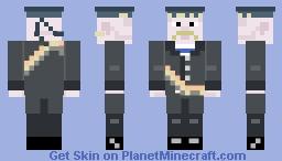 Kronstadt Sailor Rebel Minecraft Skin