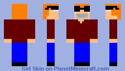 Nekon (Face Covered) Minecraft Skin