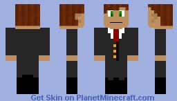 Mr. Dil the doll Minecraft Skin