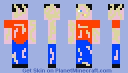 The last World infected Minecraft Skin