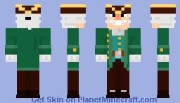 Treasure Island -  Dr. Livesey (from soviet cartoon) Остров Сокровищ - Доктор Ливси (meme) Minecraft Skin