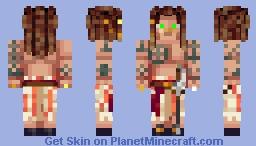 Fireless Bokor (Voodoo Man - The Jolly Rogers) Minecraft Skin