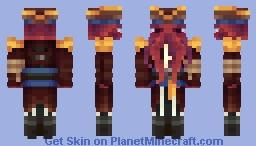 Captain Kraken Minecraft Skin