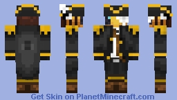 Pirate Beesue Minecraft Skin