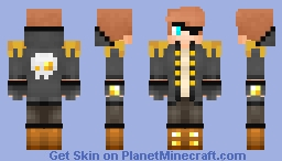 Where is my booty of gold? Minecraft Skin