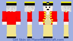 Royal Navy Dude Minecraft Skin