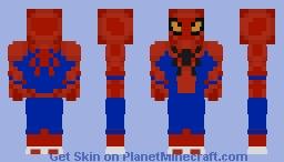 Spider Man (The Amazing Spider Man) Minecraft Skin