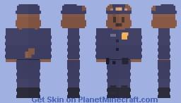Police Bear Minecraft Skin