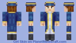 Historical Naval Officer Minecraft Skin