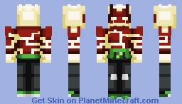 Heatblast   Ben 10 Minecraft Skin