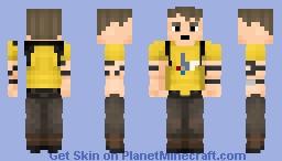 Better Rick Flag Minecraft Skin