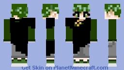 Forest Elf Boy Minecraft Skin