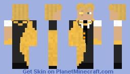 Discord series: Next Midas Minecraft Skin