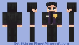 William Afton   FNAF (redo) Minecraft Skin