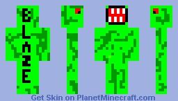 Bl4ze dInOsAuR Minecraft Skin
