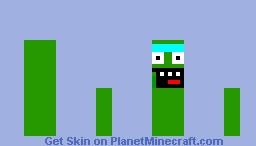 pickle rick Minecraft Skin