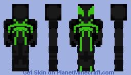 Spider Man (Big Time suit)v2 Minecraft Skin