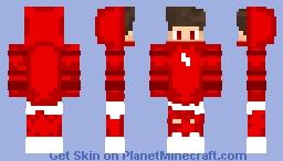 Red NightD24 Minecraft Skin